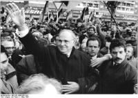 Helmut Kohl bei der Kundgebung Allianz für Deutschland (1.3.90)