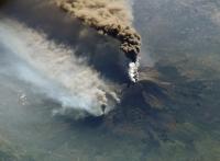 Vulkan: Ätna, Ausbruch am 30. Oktober 2002