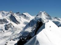Il massiccio del Monte Rosa