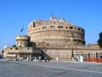 Engelsburg (Castel Sant�Angelo), Rom