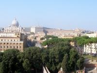Vatikanstadt, gesehen von Castel Sant´Angelo aus