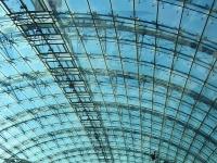 Frankfurt (Main) Flughafen Fernbahnhof, Bahnhofshalle.