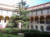 """Mailand, Chiostro del Museo della Scienza e della Tecnica """"Leonardo da Vinci"""""""