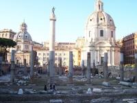 Roma - Foro di Traiano con l omonima Colonna