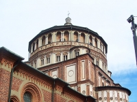 Chiesa di Santa Maria delle Grazie a Milano.