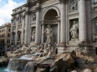 Rom: Fontana Di Trevi (Trevi-Brunnen)
