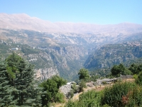Kadischa Schlucht (Ouadi Qadisha), Norden