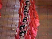 Eröffnungsfeier der Olympischen Spiele in Peking, China