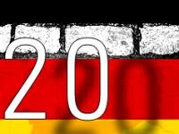 Zwanzig Jahre nach Fall der Berliner Mauer