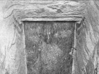 herses de granite dans la pyramide de Khéops
