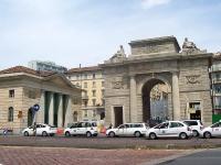 Mailand: Porta Garibaldi