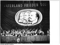 Berlin, VI. SED-Parteitag, 1.Tag