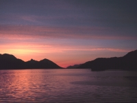 A Southeast Alaska sunset - NOAA