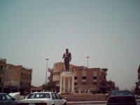 Adnan Khairallahs Statue in Bagdad (2006)