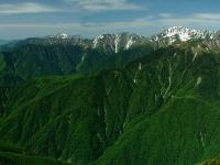 Akaishi Mountains from Mount Kannon 2002-06-17