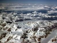 Alaska Range Mountain Peaks