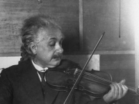 Albert Einstein violin