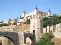 Brücke von Alcántara, Toledo, Spanien
