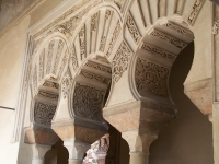 Alcazaba, Malaga, Spanien
