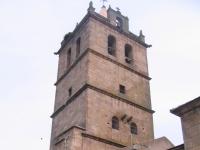 Kirche San Salvador in Aldeadávila de la Ribera (Salamaca), Spanien.