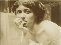 Alfons_Mucha_Studie_k_malbe_Tragedie_1908