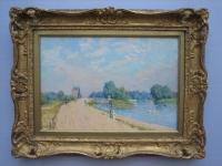 Alfred Sisley: Der Weg nach Hampton Court (1874)