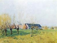 Alfred Sisley: Bauernhof zum Höllenkaff (1874)