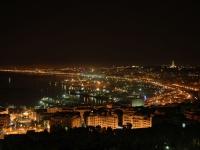 Algier bei Nacht