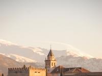 Alhambra: Festung in Granada, Spanien