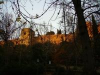 Alhambra: Befestigungsmauer