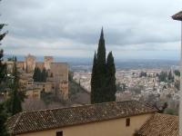 Alhambra: Sicht aus Albaicin