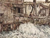 Egon Schiele: Alte Mühle