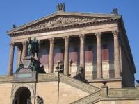 Berlin-Mitte. Alte Nationalgalerie; Teilansicht.