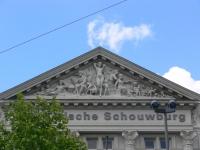 Amsterdam Hollandsche Schouwburg relief