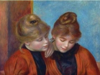 The Two Sisters (Les deux s�rs), oil on canvas (1889)