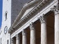 Assisi Piazza del Comune BW 3