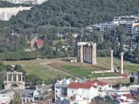 AteneOlympieionDaAcropoli