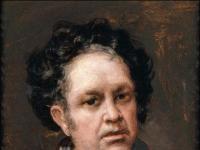 Francisco de Goya: Selbstportrait 1815