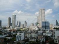Bangkok, Sicht aus dem Zentrum der Stadt