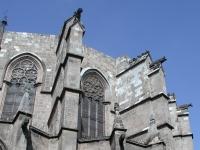 Barcelona catedral retro
