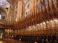 Barcelona cattedrale stalli coro
