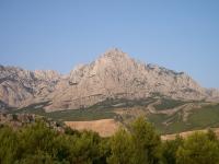 Baska Voda-mountain