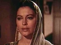 "Ava Gardner, 1956 in ""Bhowani Junction"""