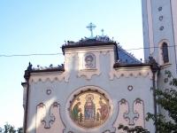 Blaue Kirche Bratislava Fassade