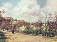Blick auf Louveciennes