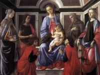 Botticelli: pala di sant´ambrogio