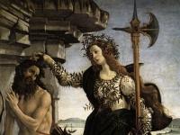 Sandro Botticelli: Pallade e il centauro (1482-1483)