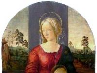 Botticelli_(atribuio)_-_Madona_com_Menino_e_So_Joo_Batista