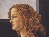 Botticelli: Bildnis einer jungen Frau (Simonetta Vespucci), 1476-80