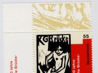 Briefmarke: 100 Jahre KG Brücke